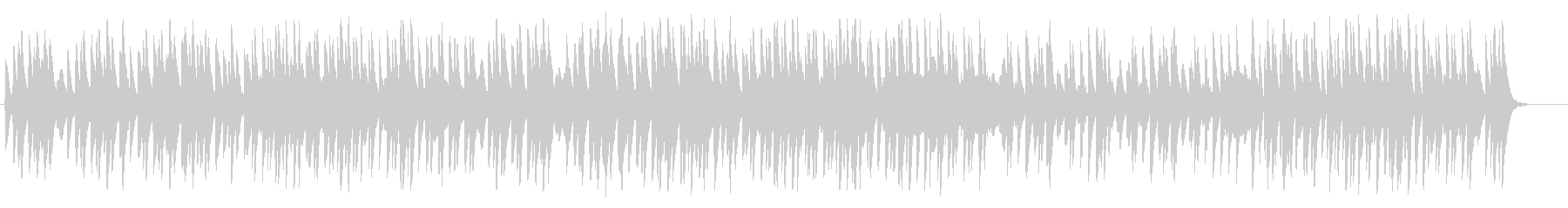 ほんわか明るい・軽快でシンプルなBGM4の未再生の波形