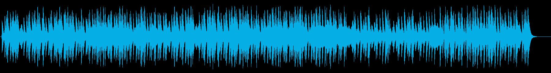 ほんわか明るい・軽快でシンプルなBGM4の再生済みの波形
