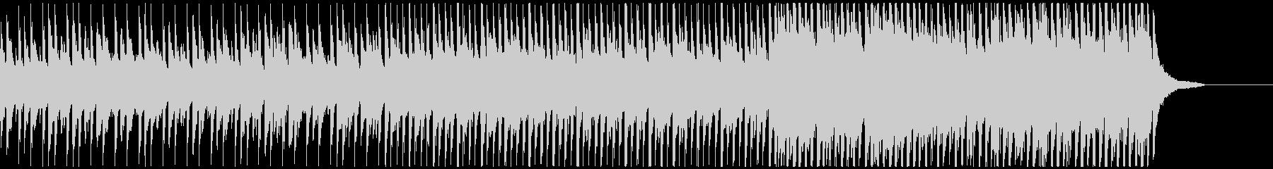 ピアノメインの爽やかで感動的なポップ曲Mの未再生の波形
