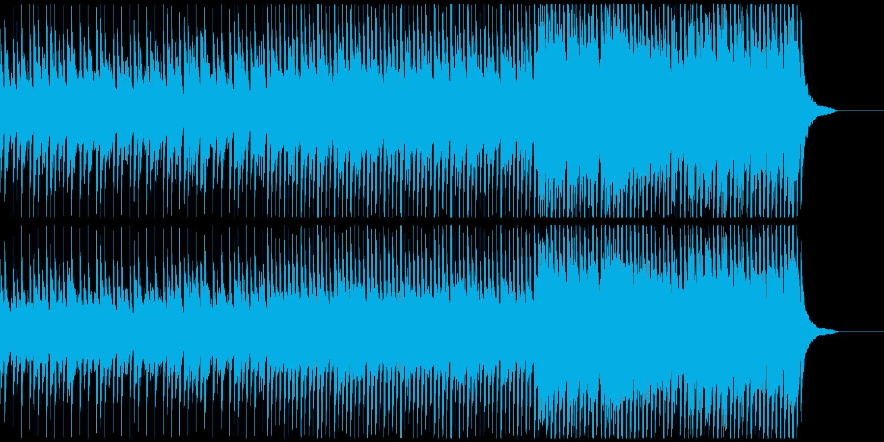ピアノメインの爽やかで感動的なポップ曲Mの再生済みの波形