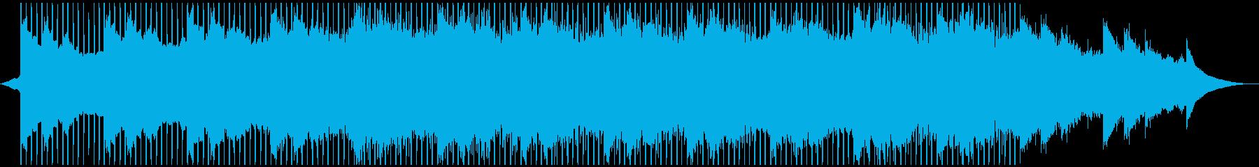 アンビエントミュージック テクノロ...の再生済みの波形