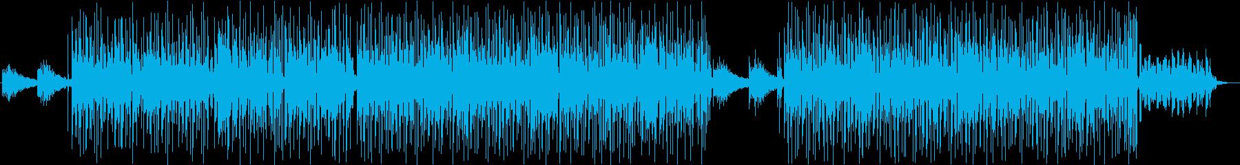 幻想的なテクノ・アンビエントトランスの再生済みの波形