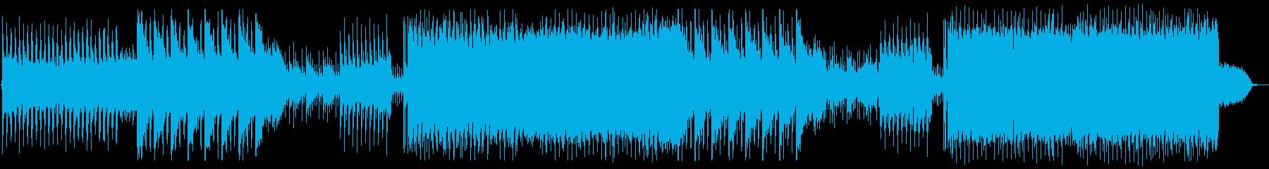 波打ち際でくつろぐチルアウト EDMの再生済みの波形