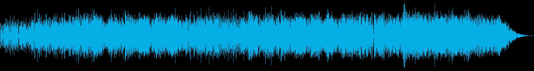 攻撃的な日本語ラップの再生済みの波形