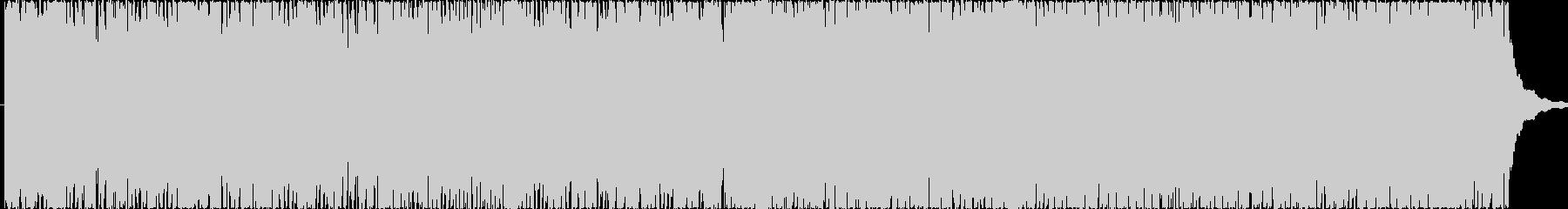リズミックで楽しいイメージのポップBGMの未再生の波形