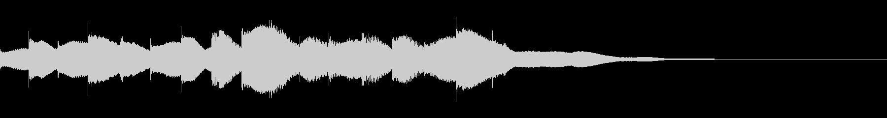 ジングル用オルゴール楽曲08-2の未再生の波形