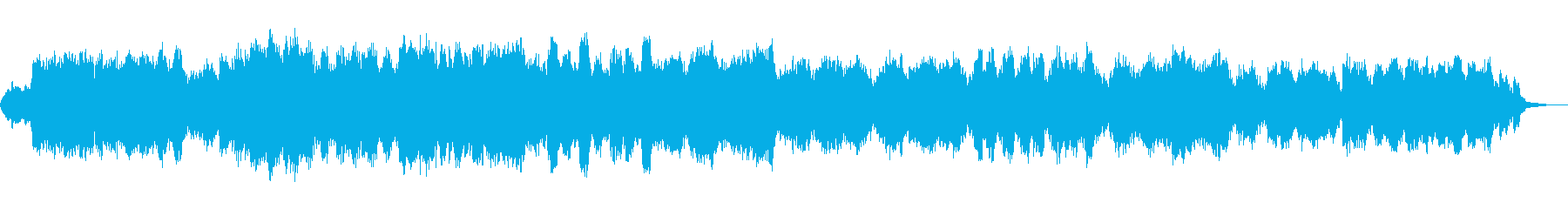 悲しげなモチーフが流れ続けるインストの再生済みの波形