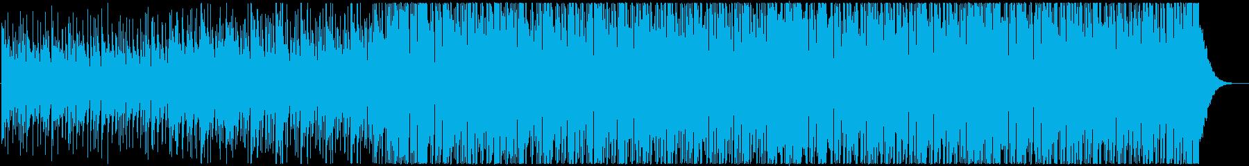 【ショートType1】明るく切ないEDMの再生済みの波形