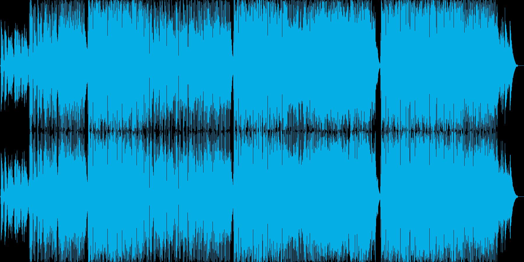 ゆるやかなロックバラード。生演奏。の再生済みの波形