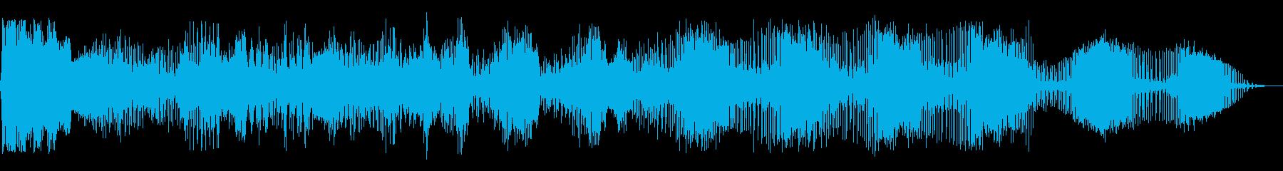 絞り込みザップの再生済みの波形