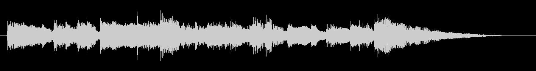 アコギ/静か/シンプル/生演奏/ジングルの未再生の波形