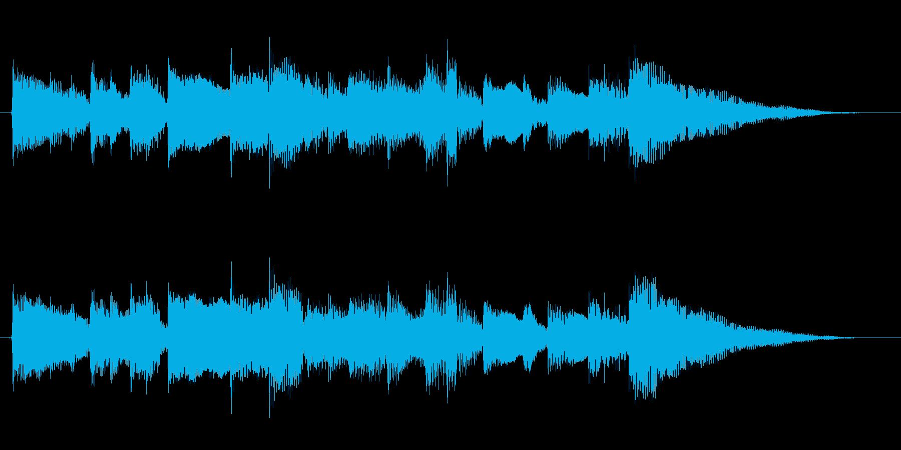アコギ/静か/シンプル/生演奏/ジングルの再生済みの波形