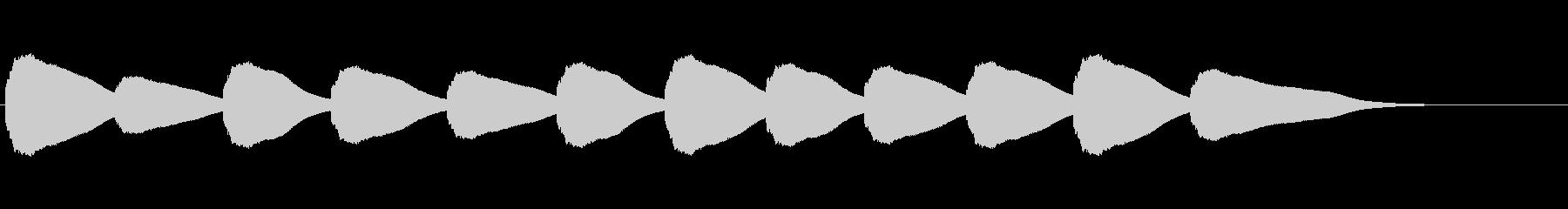 【鐘の音_04】カーン/教会/12時の未再生の波形