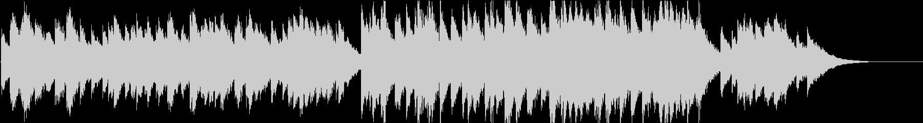 時報・チャイム風の名曲のメロディ・24の未再生の波形