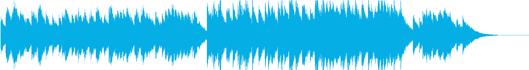 時報・チャイム風の名曲のメロディ・24の再生済みの波形