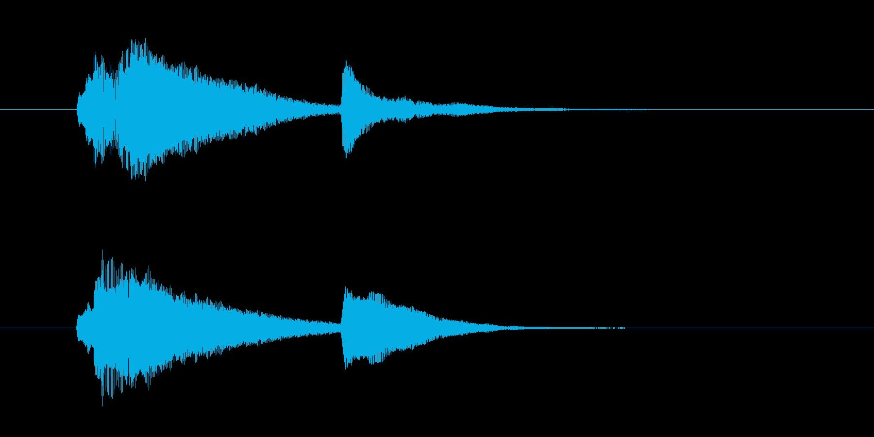 サウンドロゴ-1の再生済みの波形