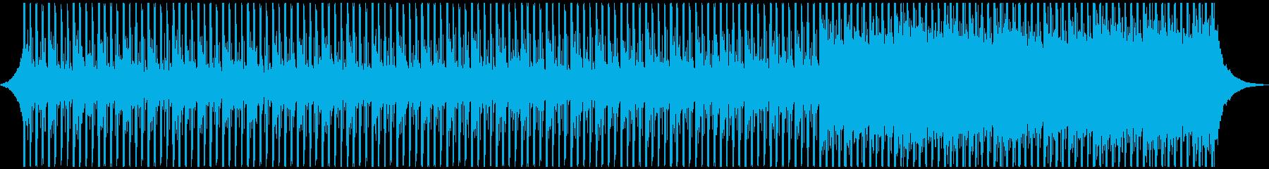 企業VPに!近未来で爽やかなテクノポップの再生済みの波形