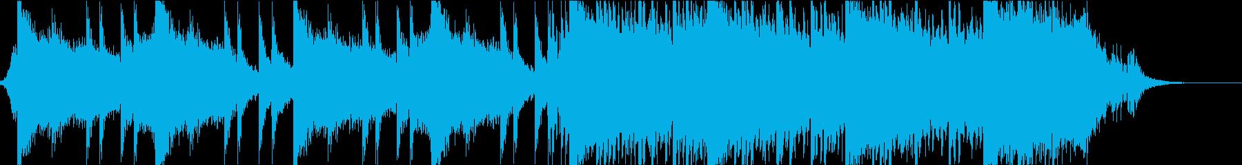 壮大 映画 イントロ EDMの再生済みの波形