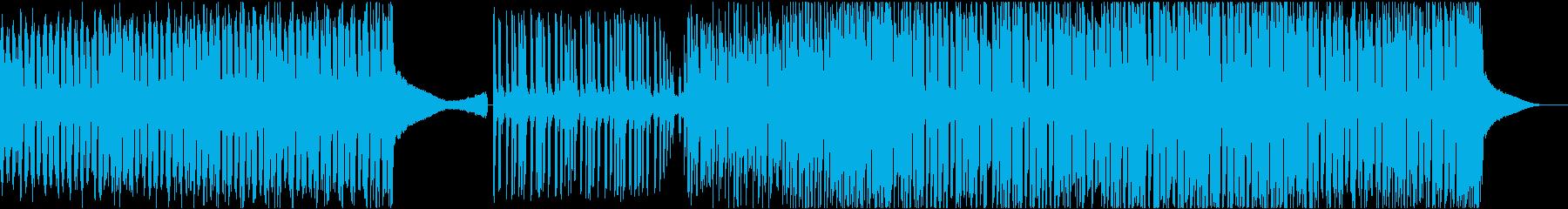 テーマパークっぽいEDMの再生済みの波形