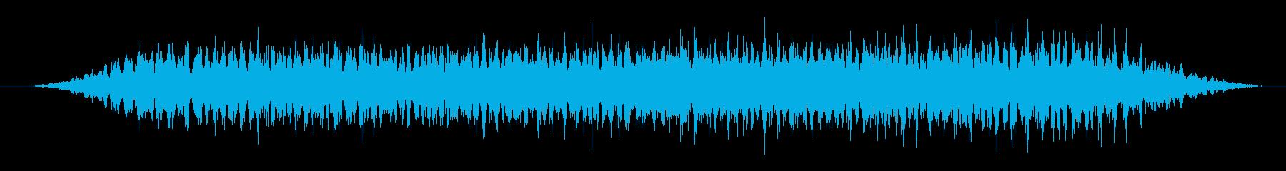 カエル/合唱/田んぼ(20秒Ver.)の再生済みの波形