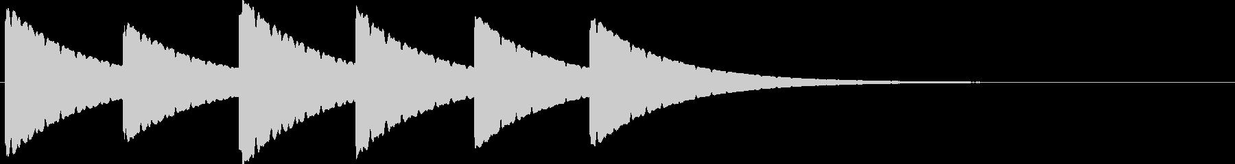 古時計(ホラー)03の未再生の波形