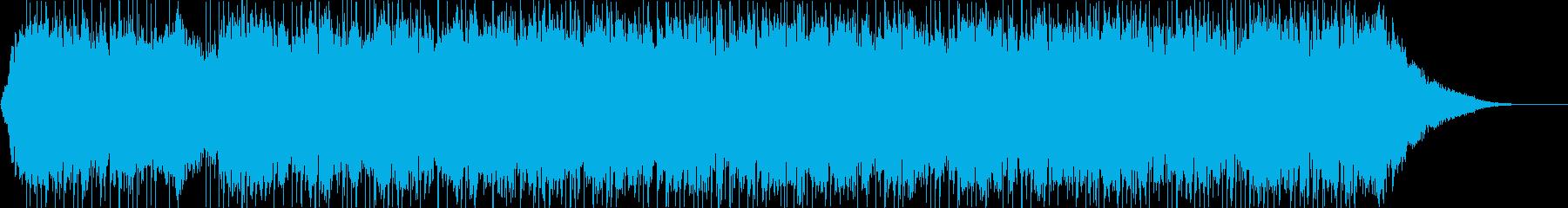 疾走感溢れるピアノエレクトロサウンドの再生済みの波形