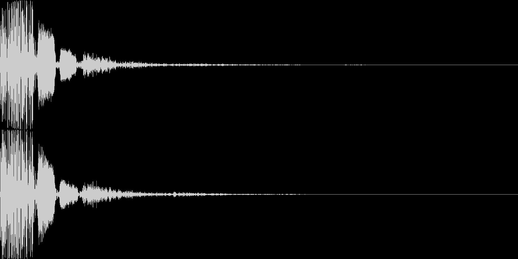 決定_02ポコポコンの未再生の波形