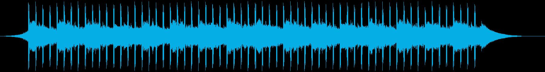説明者(ショート)の再生済みの波形