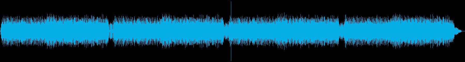 コミカルで真剣なポップミュージックの再生済みの波形