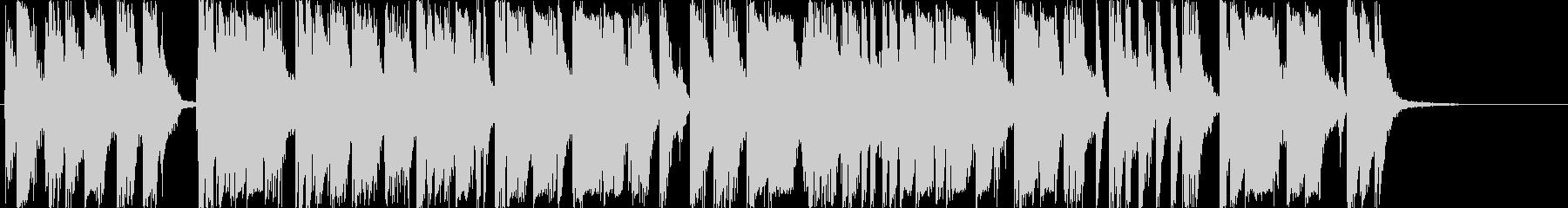 爆竹/銃撃戦「パンパンパパン」20秒の未再生の波形