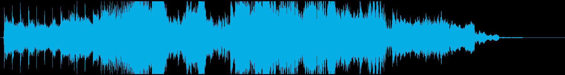 15秒CMに和風ダブステップ!篠笛生演奏の再生済みの波形