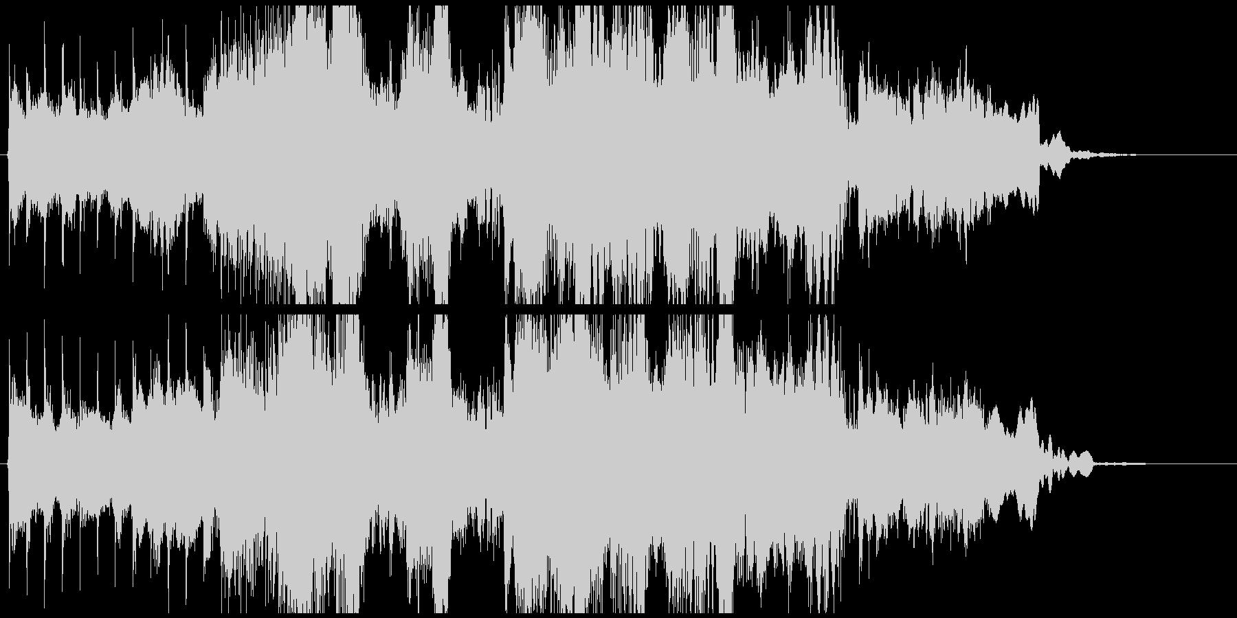 15秒CMに和風ダブステップ!篠笛生演奏の未再生の波形
