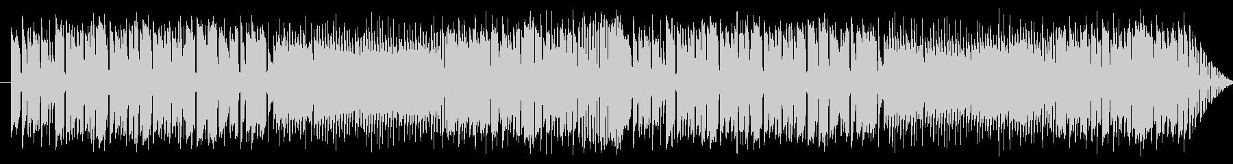 サックスのレゲエ調のジングルの未再生の波形