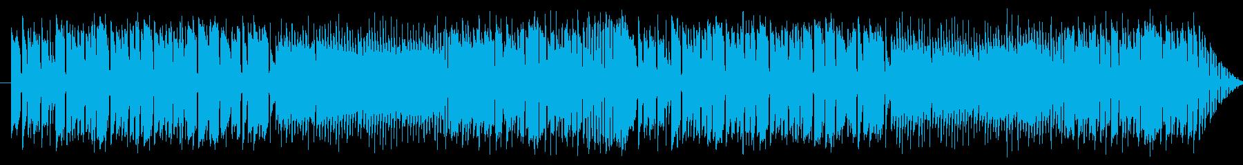 サックスのレゲエ調のジングルの再生済みの波形