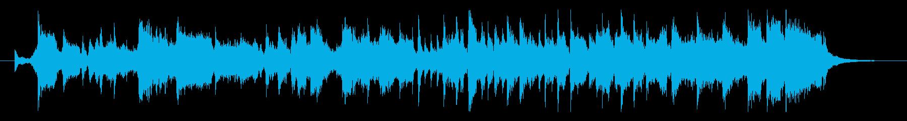 ソウル風に「チャンネル登録よろしくね!」の再生済みの波形