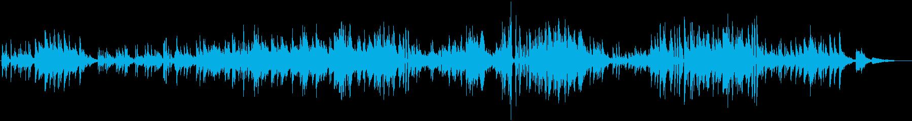 しっとりとしたピアノソロの再生済みの波形