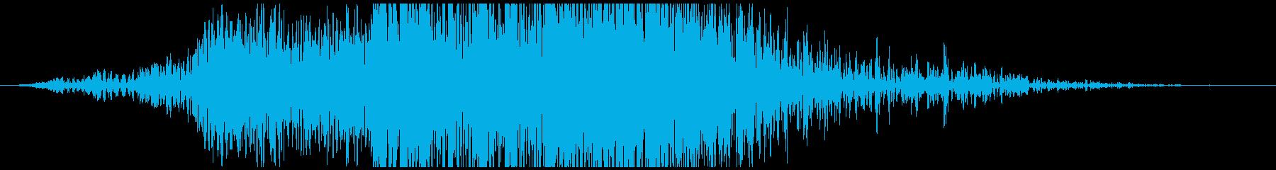 ヘビーメタルクラッシュの再生済みの波形