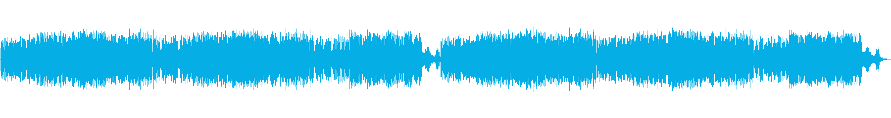 軽快で爽快感のあるオーケストラの再生済みの波形