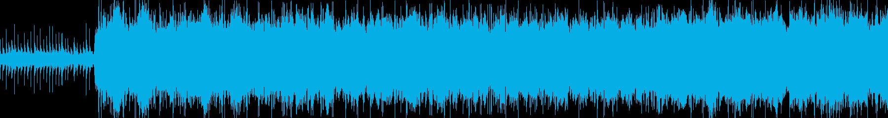 感動的な雰囲気のシンプルなエレクトロニカの再生済みの波形
