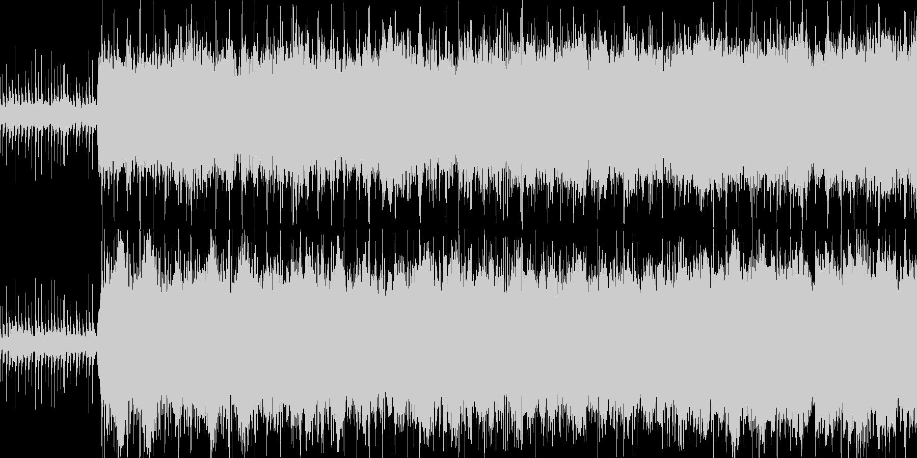 感動的な雰囲気のシンプルなエレクトロニカの未再生の波形