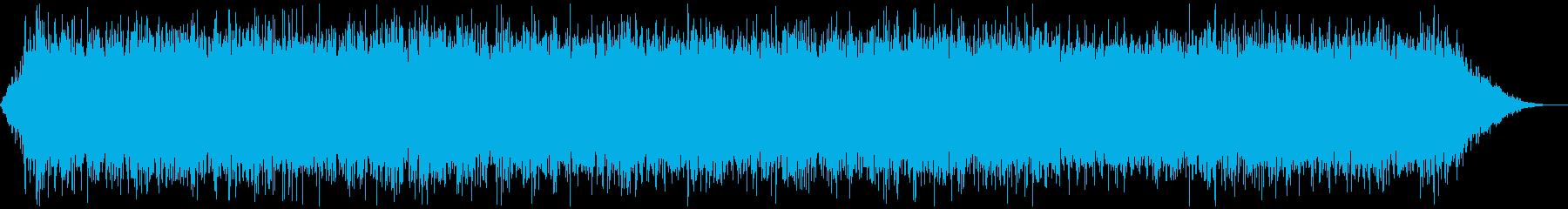 ホラー・怪談用の不気味な効果音2の再生済みの波形