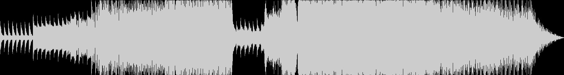 ハイストリングスなしの未再生の波形
