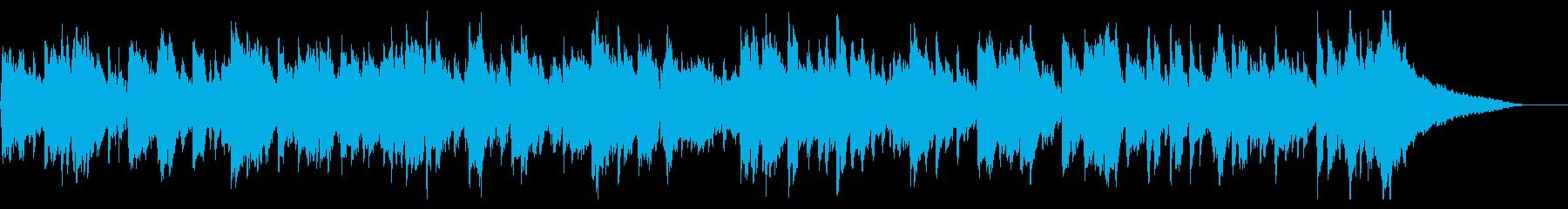 おだやかなレトロフォークバイオリンバンドの再生済みの波形