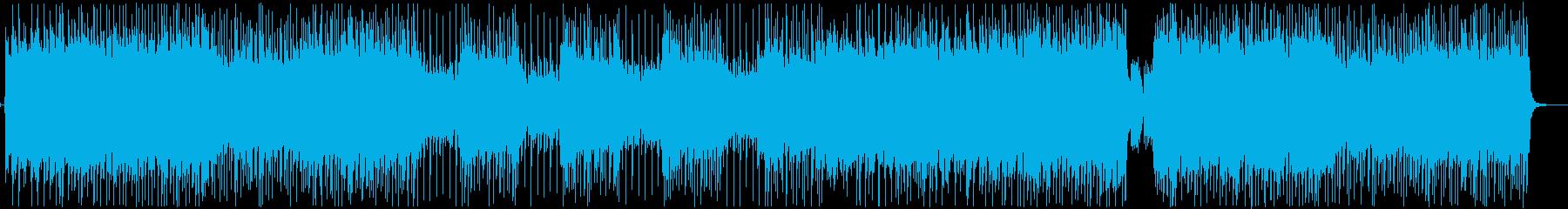 短縮ver疾走感のあるアナログ和風ロックの再生済みの波形