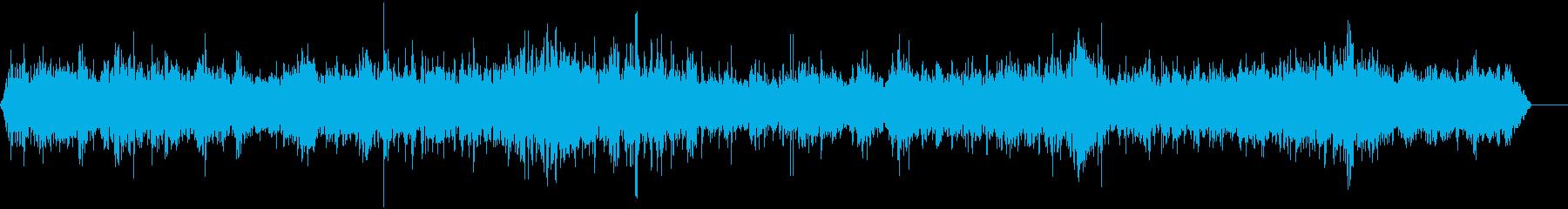 屋外カフェバー2の再生済みの波形