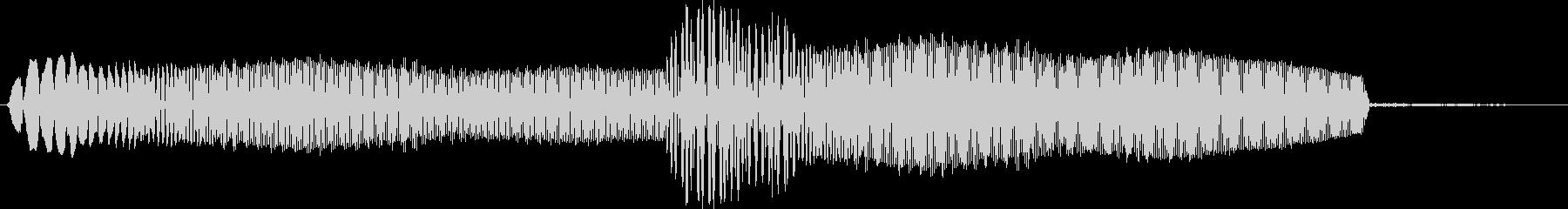 キュピ 選択音 システム音の未再生の波形