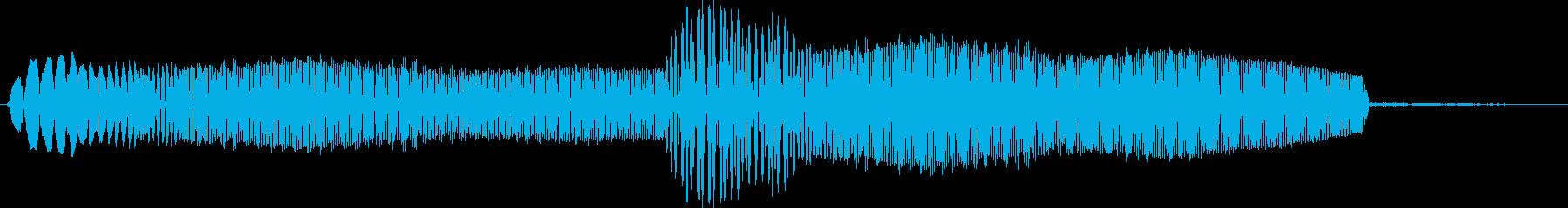 キュピ 選択音 システム音の再生済みの波形