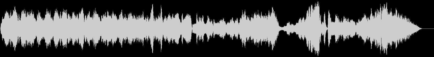 木管五重奏のための揺らぎの未再生の波形