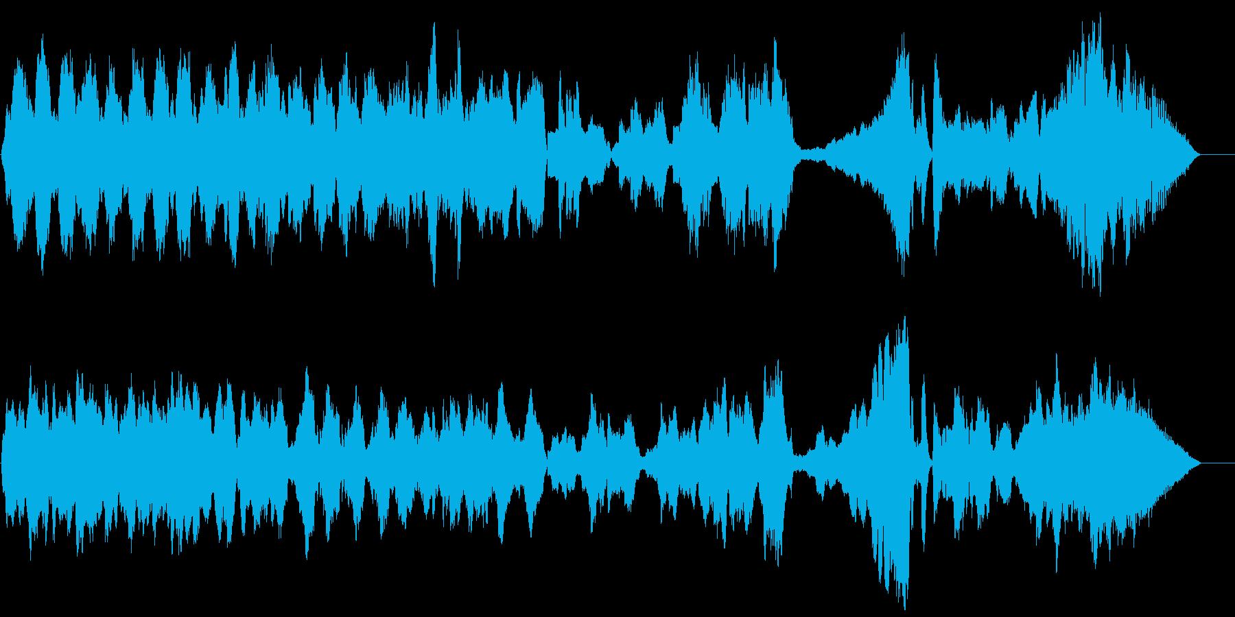 木管五重奏のための揺らぎの再生済みの波形