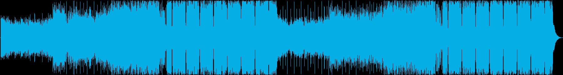 爽快なFuture Bass(和風Verの再生済みの波形